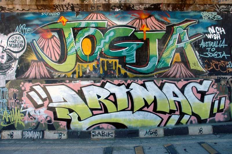 Jogja art mag urbancult for Mural yogyakarta